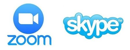 HOME . zoom and skype